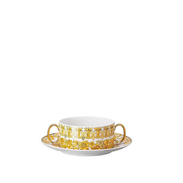 купичка с чинийка Versace Medusa Rhapsody Creamsoup cup & saucer