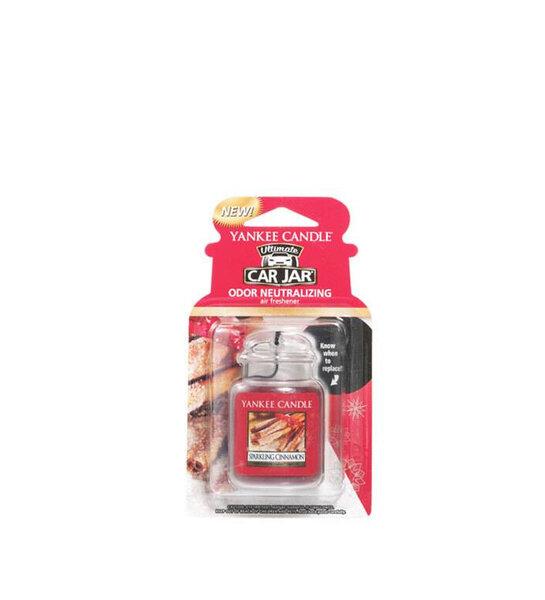ароматизатор за кола Yankee Candle Sparkling Cinnamon Car Jar® Ultimate