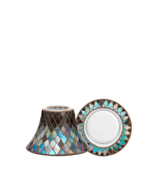 к-т абажур Yankee Candle Autumn Mosaic Large Shade & Tray Set