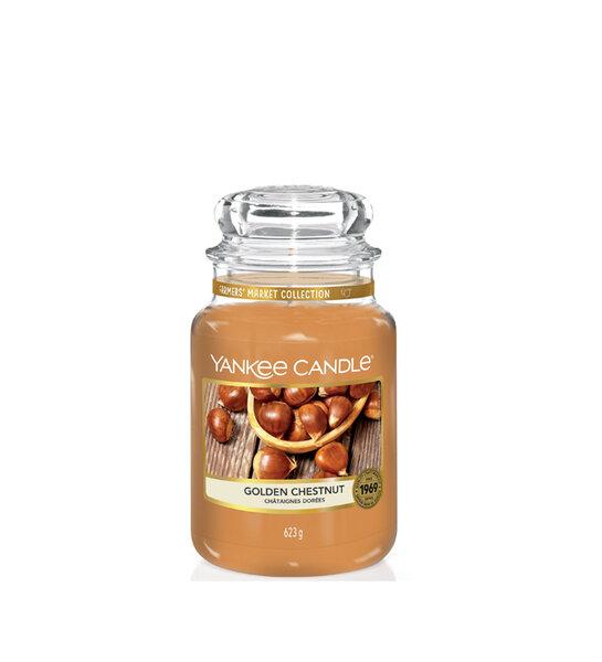 Свещ голям буркан Yankee Candle Golden Chestnut