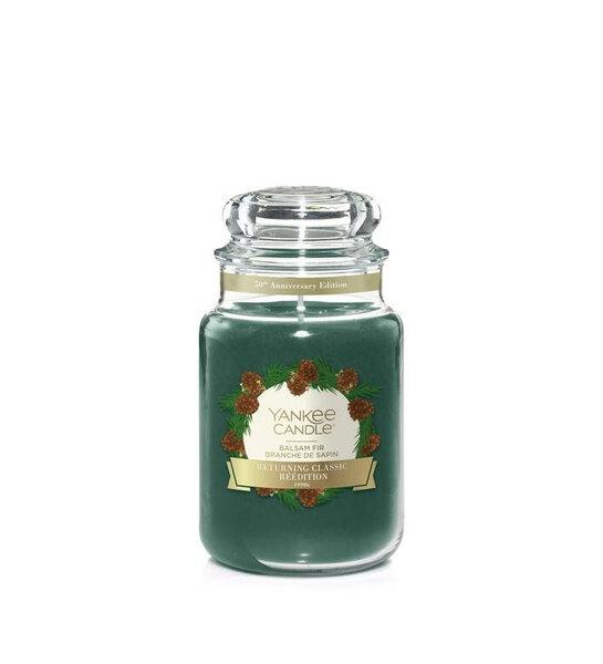 Свещ голям буркан Yankee Candle Balsam Fir