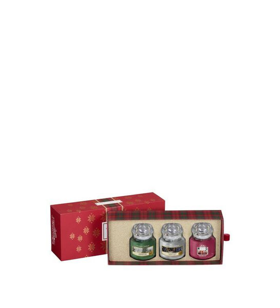 коледен комплект Yankee Candle 3 Small Jars