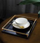 чаша и чинийка за чай Villeroy & Boch Anmut Gold