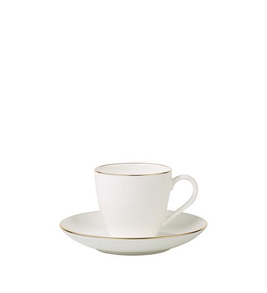 чаша и чинийка за еспресо Villeroy & Boch Anmut Gold Espresso cup & saucer