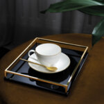 ЧАША И ЧИНИЙКА ЗА КАФЕ VILLEROY & BOCH ANMUT GOLD