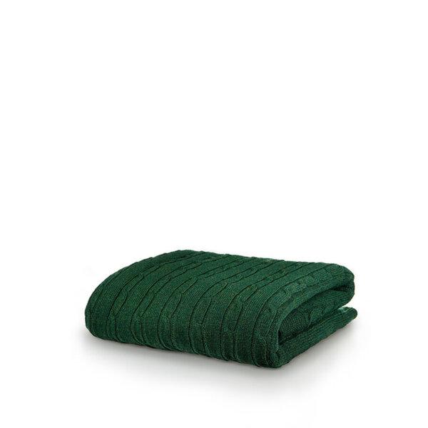 Одеяло White Boutique Tirol Wool Green