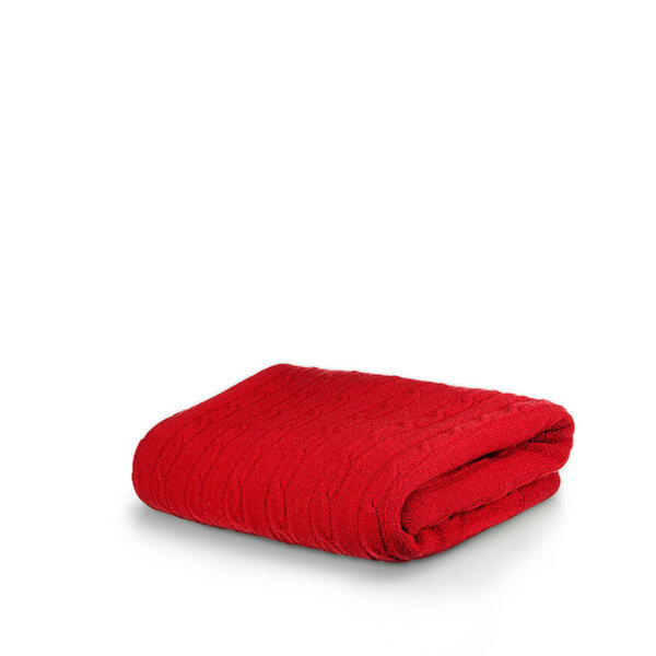 Одеяло White Boutique Tirol Wool Red