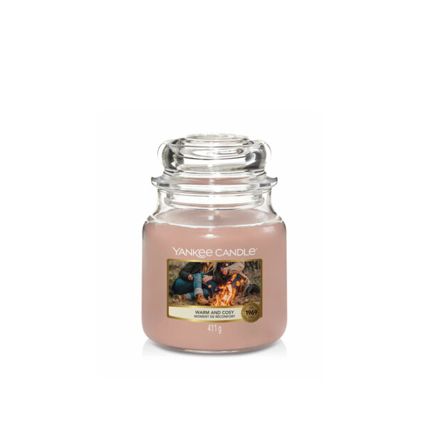 СВЕЩ СРЕДЕН  БУРКАН Yankee Candle WARM AND COSY