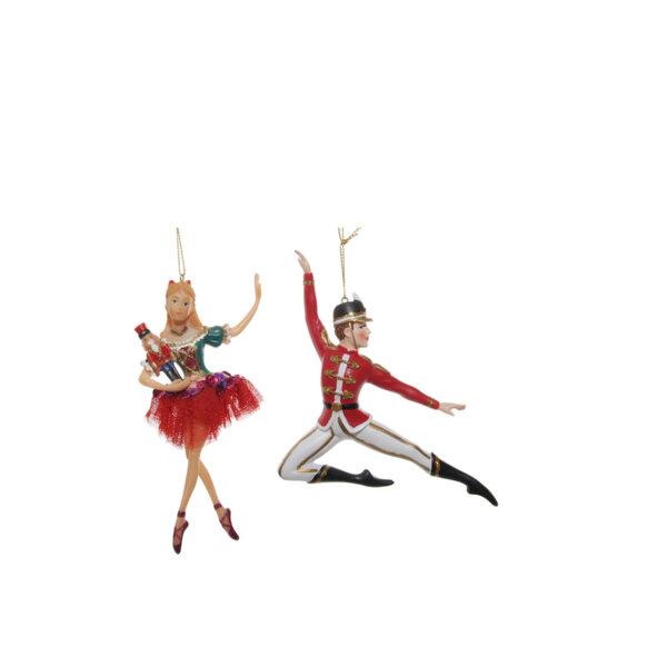 КОЛЕДЕНИ ИГРАЧКИ ТАНЦЬОРИ Shishi NUTCRACKER DANCERS 1БР 13-17 CM