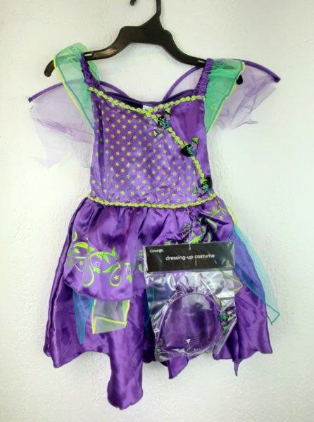 Нова карнавална рокля 3-4год.