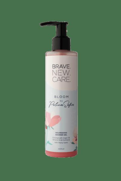 Омекотяващ и подхранващ душ гел Bloom by PolinaSofia