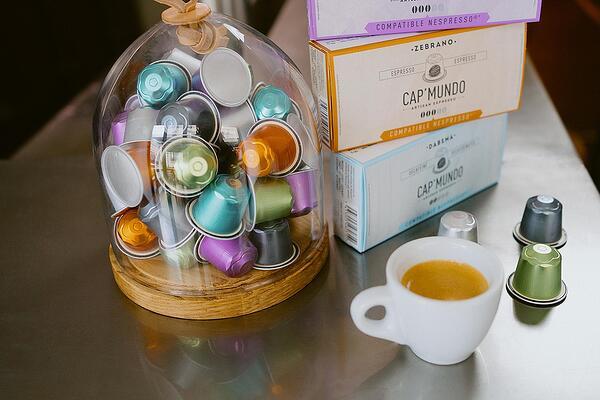 Nespresso ® съвместими капсули от CAP'MUNDO Изображение