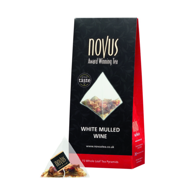 Чай Бяло Греяно Вино (ново, 15 бр. пирамидки)