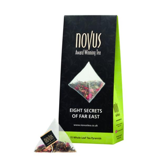 Чай Осем тайни на далечният изток (ново, 15 бр. пирамидки)
