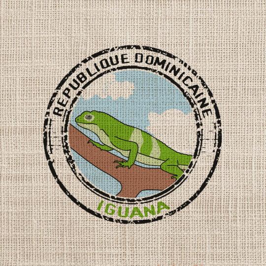 """Прясно изпечено """"Специално Кафе"""" Доминиканска Република Игуана"""