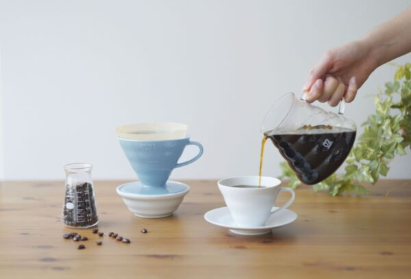 V60 Coffee Dripper HARIO 02 керамика