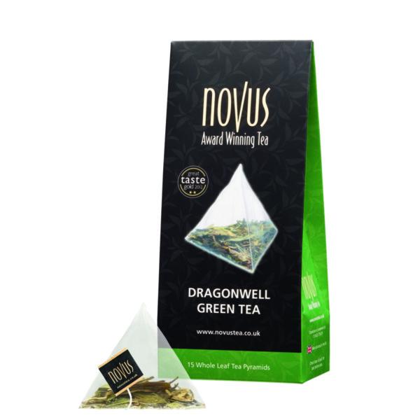 Чай Зелен Драгонуел (ново, 15 бр. пирамидки)