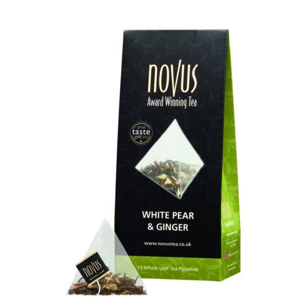 Чай Бяла Круша и Джинджифил (ново, 15 бр. пирамидки)