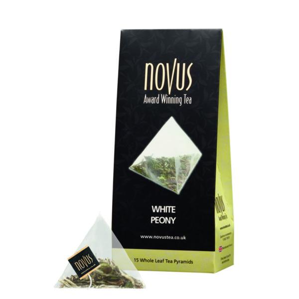 Чай Бял Божур(Пай Му Тан) (ново, 15 бр. пирамидки)