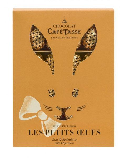 Café-Tasse, кутия-заек с яйца от млечен шоколад и бисквити