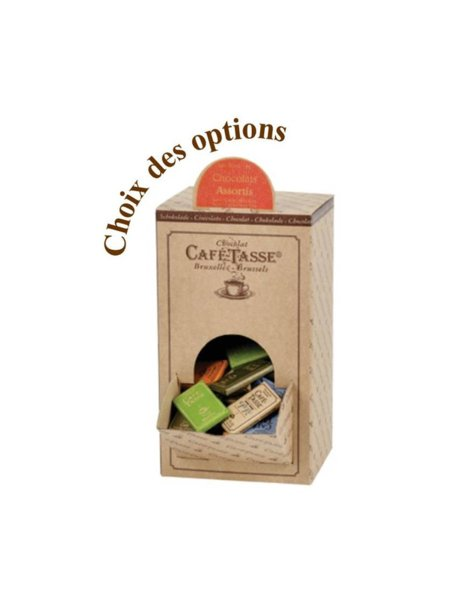 Café-Tasse белгийски шоколад асорти, кутия 1.5кг.