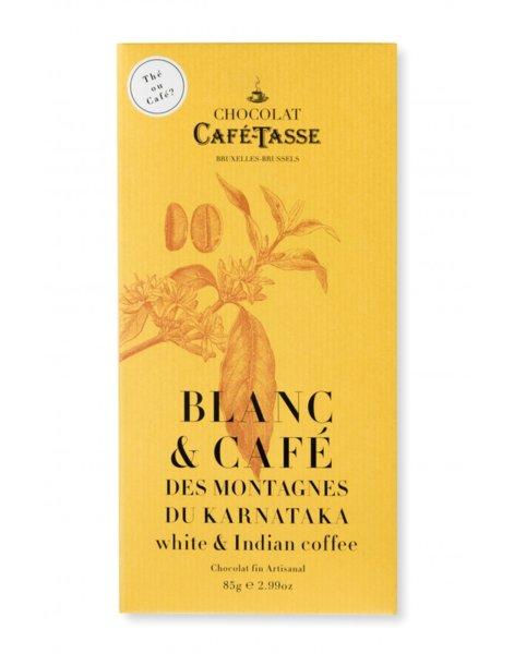 Café-Tasse белгийски, бял шоколад с индийско кафе