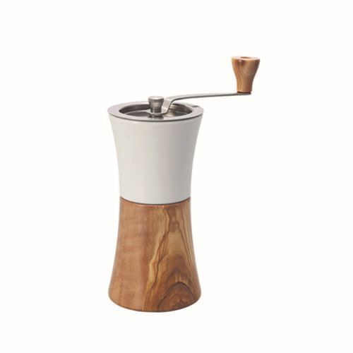 Ръчна Кафемелачка Hario Ceramic Coffee Mill Wood