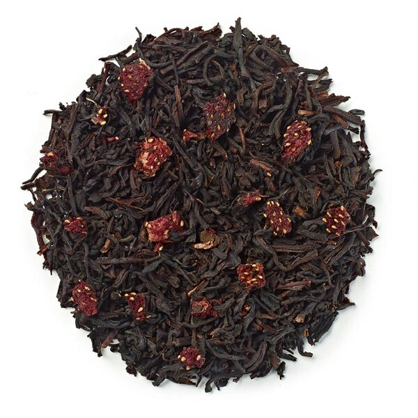 Чай Ягода и сметана (цели листа)