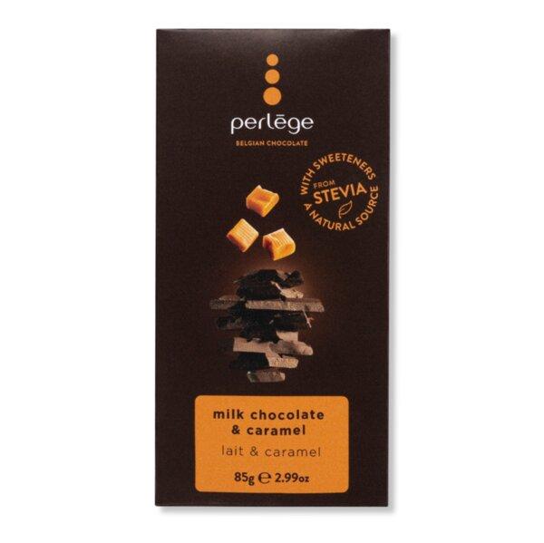 Perlége млечен шоколад с карамел